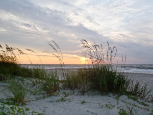 Sunrise on the south end of Pawleys Island