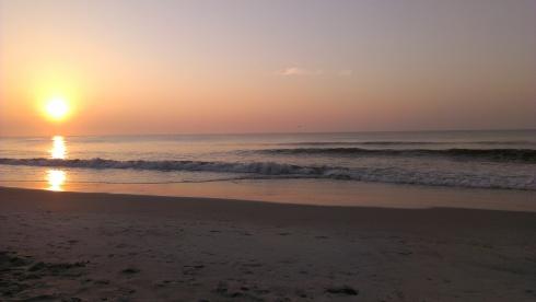 Despertar junto al mar.