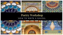 Poetry Workshop_ Ghazal