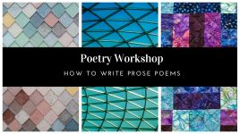 Poetry Workshop_ How to write prose poems
